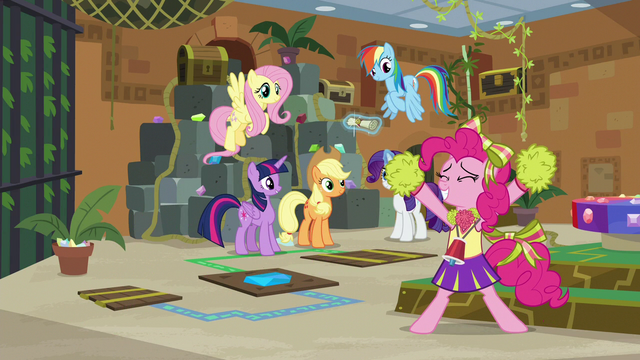 """File:Pinkie Pie """"our friendship is so true!"""" S7E2.png"""