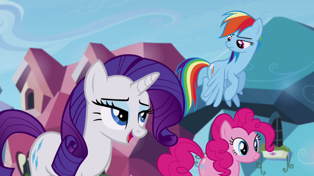 "File:Rarity ""we never hear a peep out of you"" S4E25.png"