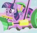 Twilight with Noteworthy's cutie mark ID S1E11