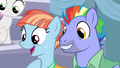 Bow and Windy excited by Scootaloo's story S7E7.png