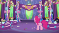 Pinkie Pie in the dining hall after the party S7E1.png