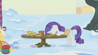 Rarity stressed out S1E11
