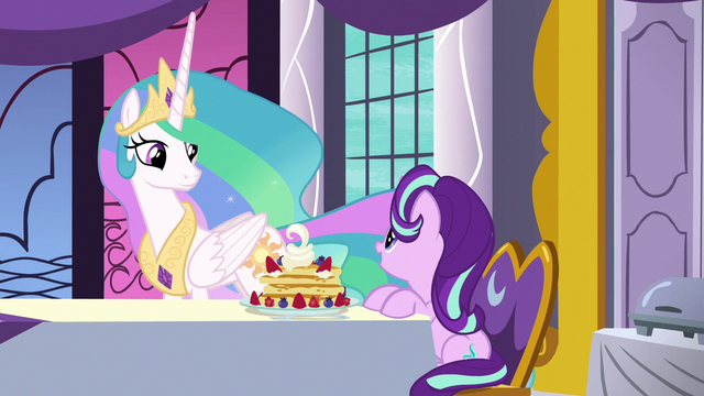 """File:Starlight """"I can't believe you cook it yourself"""" S7E10.png"""