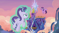 Twilight and Starlight's first successful teleport S6E21