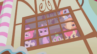 Twilight looking out the window defiantly S1E9
