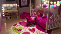Pinkie Pie texting on her bed (version 2) EGM1