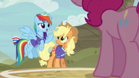 "Rainbow Dash ""some ponies thrive on pressure"" S6E18"
