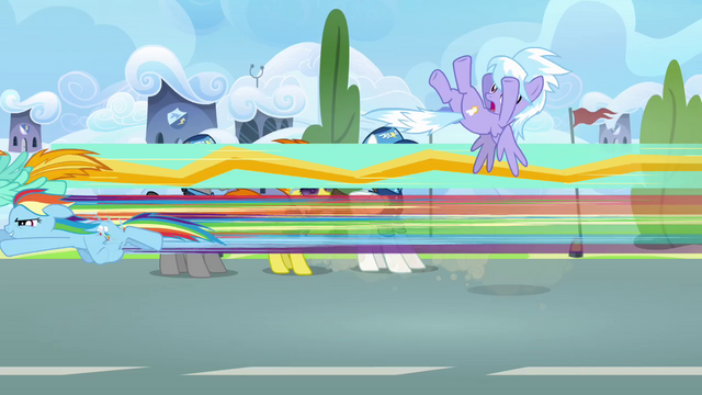 File:Rainbow and Lightning flies past Cloudchaser S3E07.png