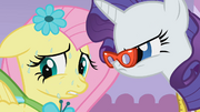 Rarity pressures Fluttershy S1E14