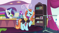 "Sassy Saddles ""no reason to panic"" S7E6"