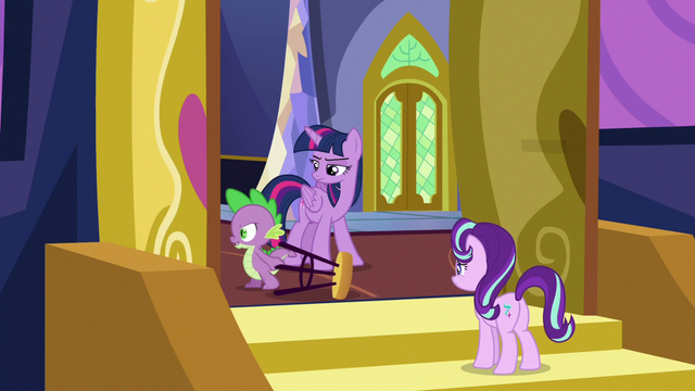 File:Spike Changeling walking away angrily S6E25.png