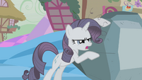 Grey Rarity claiming her rock S2E2
