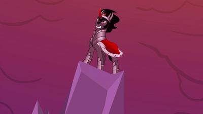 King Sombra smirking evilly S5E25