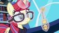 Moon Dancer straightens her glasses S5E12.png