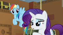 "Rarity ""yes, yes, woo-hoo"" S7E2"