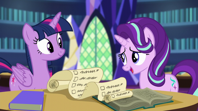 "File:Starlight ""you're really narrowing it down"" S6E1.png"
