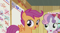 "Sweetie and Scootaloo sings ""..way..."" S5E18"