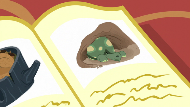 File:An illustration of a tortoise waking up from hibernation S5E5.png