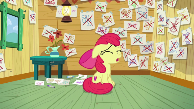 "File:Apple Bloom singing ""I never imagined myself out on my own"" S6E4.png"
