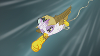 Gilda dives to Rainbow Dash's rescue S5E8