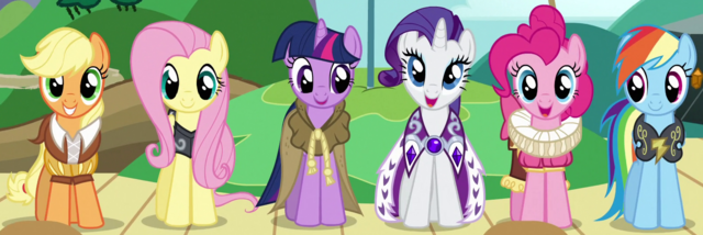 File:Mane Six as founders of Equestria ID S2E11.png