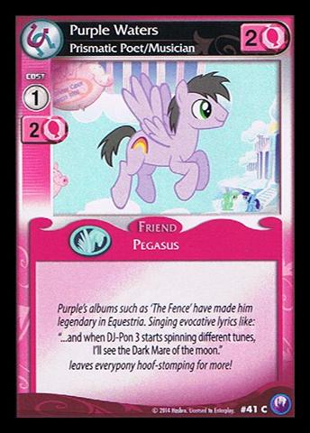 File:Purple Waters, Prismatic Poet-Musician card MLP CCG.jpg