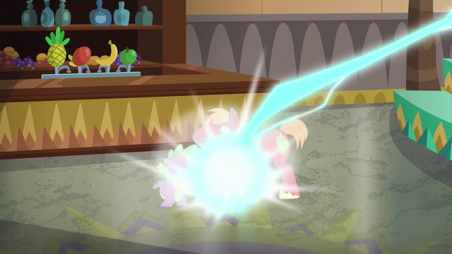 File:Spike and Big Mac zapped by Discord S6E17.png