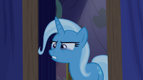 Trixie with tears in her eyes S6E6