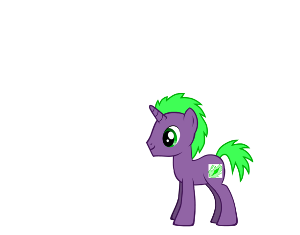 File:FANMADE Spike pony.png