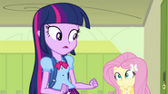 Fluttershy can't believe what she just saw EG