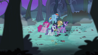 Main cast searching for Flutterbat S4E07