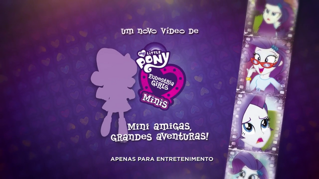 File:Pinkie Pie's Slumber Party - Rarity intro (Portuguese) EGM3.png