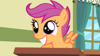 Scootaloo getting very excited S4E05