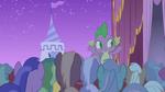 Spike cheering for Rarity S1E14