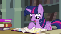 Twilight reminds Fluttershy of the Breezies S4E25