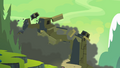 Fortress of Talacon collapsing S4E04.png