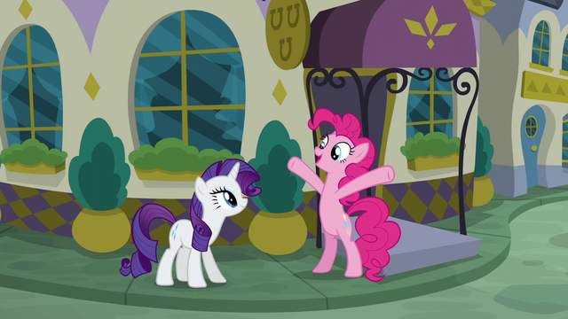 "File:Pinkie Pie ""the food here must be amazing!"" S6E12.png"