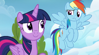 """Rainbow Dash confused """"we can?"""" S6E24"""