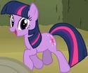 Twilight Sparkle Earth pony ID S2E01