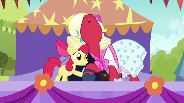File:Apple Bloom and Orchard Blossom sing hoof-in-hoof S5E17.png