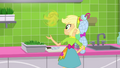 Applejack flipping a banana in the air SS9.png