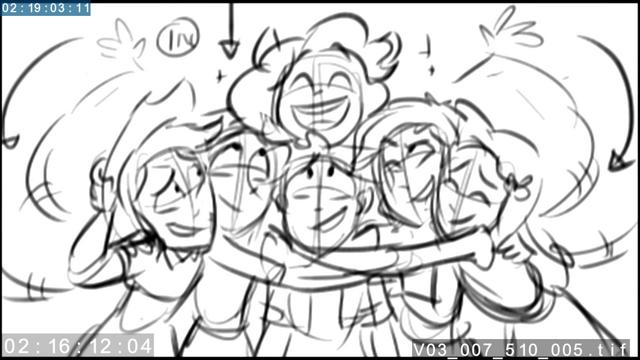 File:EG3 animatic - Main six group hug.png