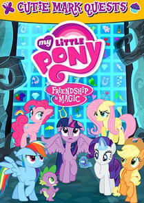 MLP Cutie Mark Quests DVD cover