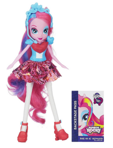File:Pinkie Pie Equestria Girls Rainbow Rocks doll.png