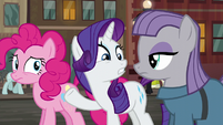 "Rarity ""how did you know where he'd be?"" S6E3"