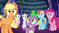 Twilight's friends in awe EG2