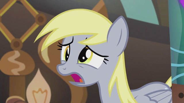 "File:Derpy ""Because I accidentally sent out invitations"" S5E9.png"