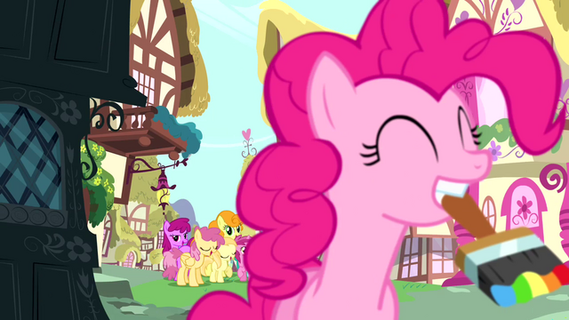 File:Pinkie Pie with a paintbrush S4E12.png