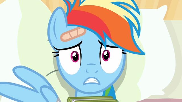 """File:Rainbow Dash """"I'm an egghead"""" S02E16.png"""