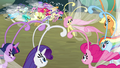 Fluttershy speaking Breezie language S4E16.png